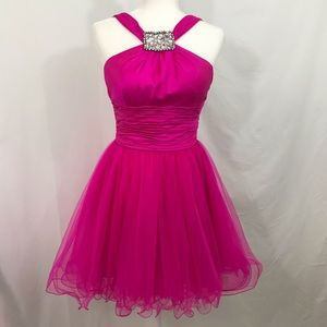 SHERRI HILL Formal Homecoming Prom Short Fit Flare